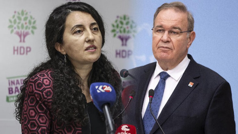 HDP'den CHP'ye: Haddinizi bilin!