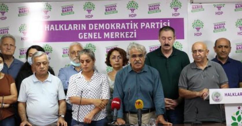 HDP Eş Genel Başkanı Mithat Sancar: Konya'daki vahşi katliamın başlıca sorumlusu iktidardır