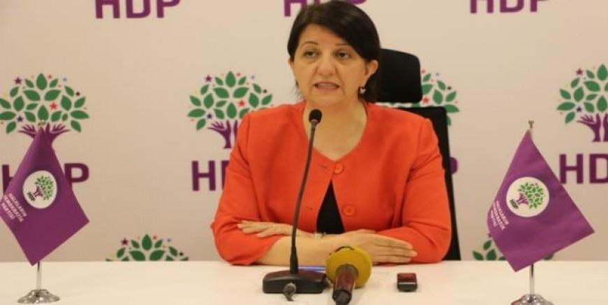 HDP Eş Genel Başkanı Pervin Buldan: Kayyımlara ses çıkarmazsak sıra İstanbul'a, Ankara'ya gelir