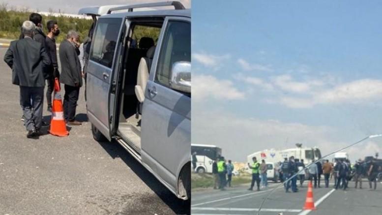 HDP Heyetinin Amara'ya girişine polis engeli: 1 gözaltı