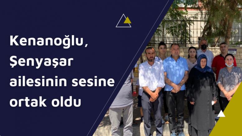HDP İstanbul Milletvekili Ali Kenanoğlu, Şenyaşar ailesini ziyaret etti (VİDEO)