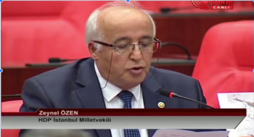 HDP'li özen Mazgirt'te karakollarda okunan ezen asimilasyon politikasın bir parçasıdır (VİDEO)