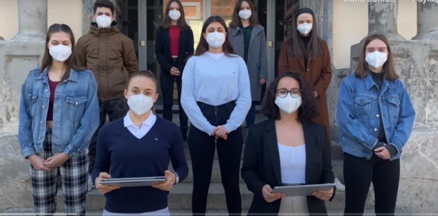 HIB-Liebenau'daki öğrencilerinden Eğitim Bakanı Heinz Faßmann'a video mesaj (VİDEO)