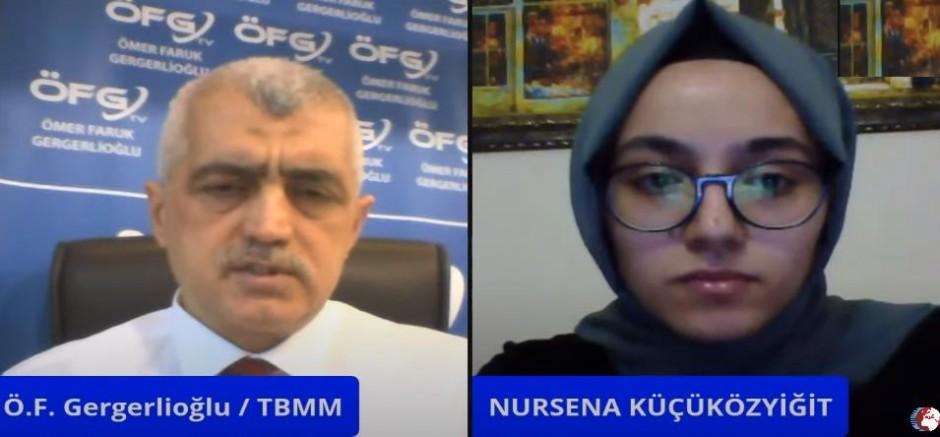 Hüseyin Galip Küçüközyiğit'in Kızı Nursena Küçüközyiğit ÖFG TV'e Konuk Oldu!(VİDEO)