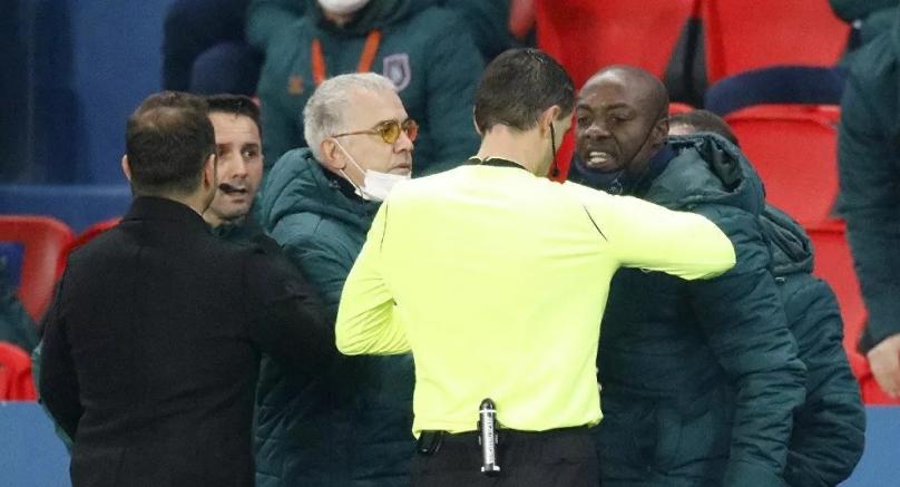 Irkçı söylem PSG-Başakşehir maçını erteletti