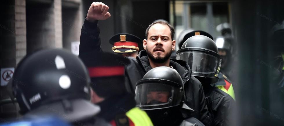 İspanya'da Rapçi Hasel'in tutuklanmasının ardından başlayan protestolar 6. gününde