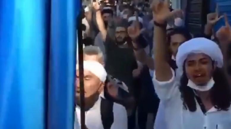 İstanbul'da ikinci şeriat isteriz yürüyüşü |VİDEO
