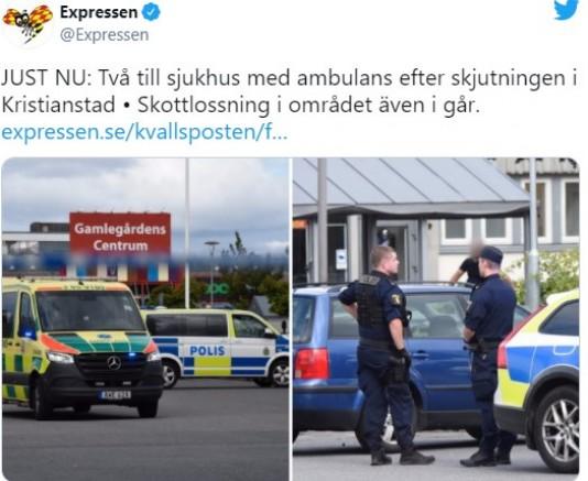 İsveç'te  silahlı saldırı: çok sayıda yaralı olduğu söyleniyor