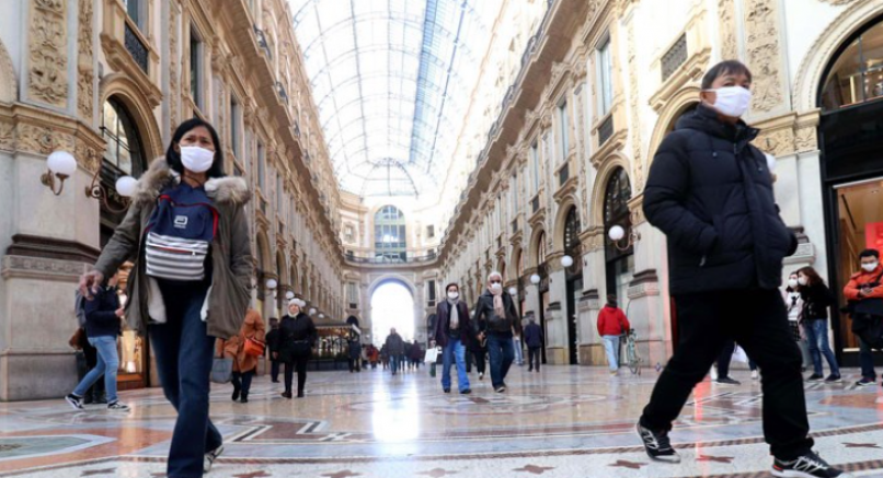 İtalya'da korona tedbirlerini nisan ayı sonuna kadar uzattı