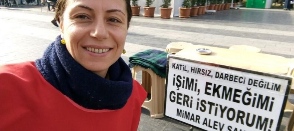 KHK'lı Mimar Alev Şahin: Emniyet bana örgüt arıyor dedi
