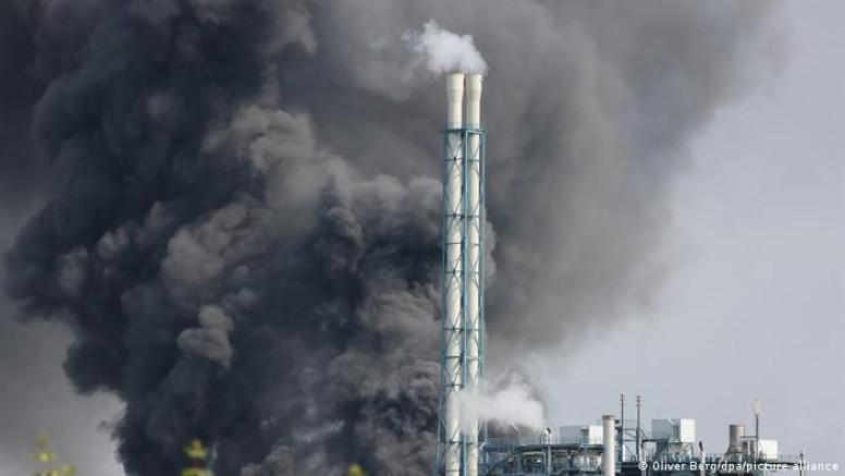 Leverkusen'deki bir Kimyasal tesiste patlama meydana geldi