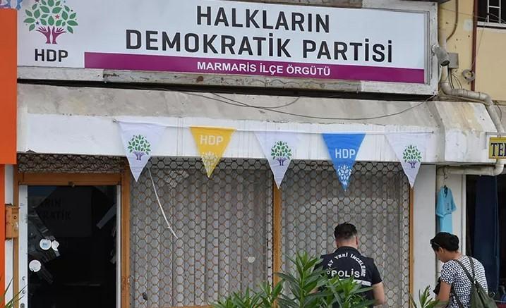 Marmaris'teki HDP binasına silahlı saldırı düzenlendi