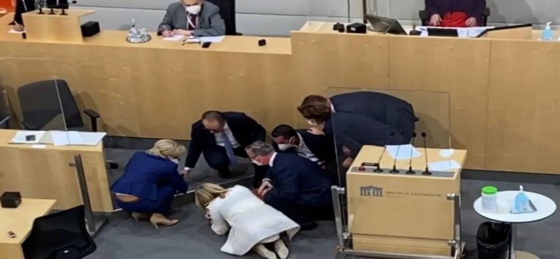 Mecliste gensoru konuşmaları sıranda milletvekili baygınlık geçirdi: Gensoru oylamada ret edildi