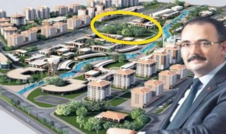 MHP Ve AKP'liler el kaldırdı Yeşil alan otel oldu