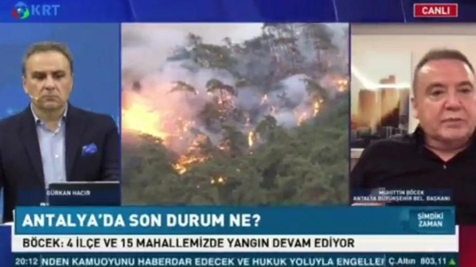 Muhittin Böcek: AKP'li yöneticiler yangın söndürme ekiplerini yönlendiriyor