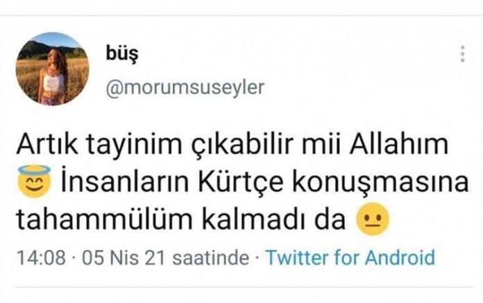 Nusaybin'de görevli öğretmenden tepki çeken paylaşım: İnsanların Kürtçe konuşmasına tahammülüm kalmadı