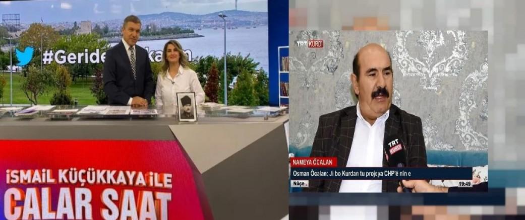 Osman Öcalan'ın TRT Kurdiye çıkısına ses çıkarmayan RTÜK, Fox TV'ye Başak Demirtaş için inceleme başlattı