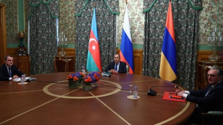 Rusya'daki toplantıda Ermenistan ile Azerbaycan arasında ateşkes ilan edildi