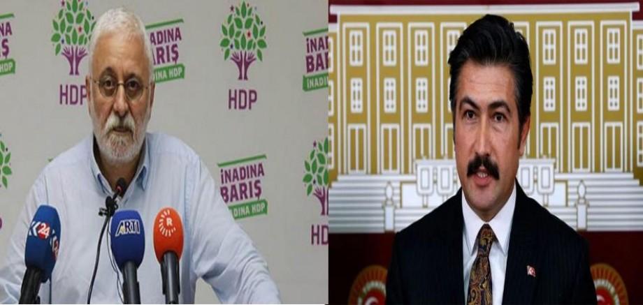Saruhan Oluç: AKP'li Özkan'a bize saldıracağına cemaatle nasıl kol kola gezdiğini anlat