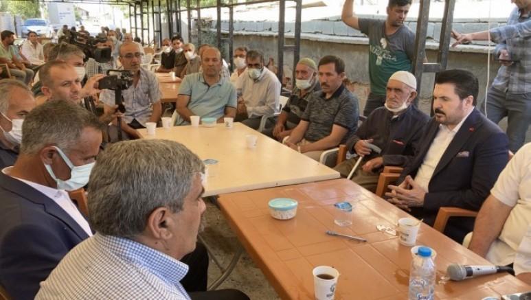 Savcı Sayan'a Dedeoğuları taziyesinde tepki: Biz döneklerden değiliz