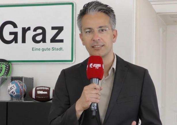 """Kurt Hohensinner: """"Graz belediyesi olarak yardıma ihtiyacı olan halkımıza maddi, manevi her türlü yardım için buradayız"""" dedi (VİDEO)"""