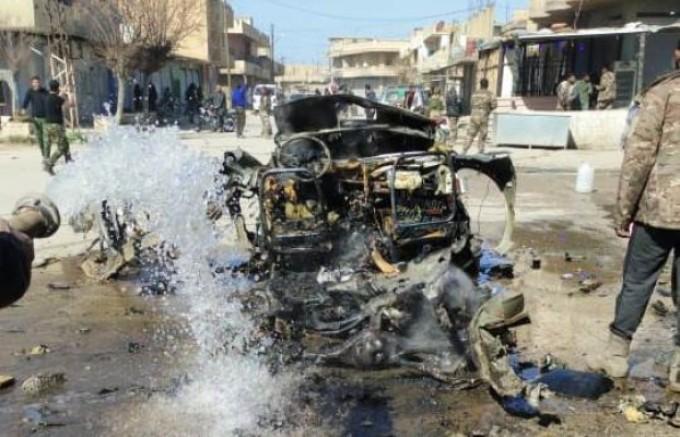 Suriye'de bombalı saldırı: 3 ölü, 9 yaralı