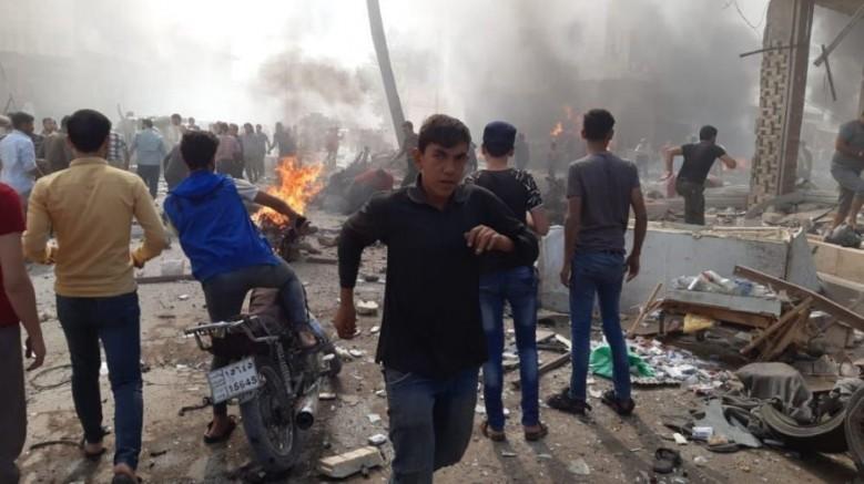 Suriye El-Bab'da bomba yüklü araç patladı: Ölü ve yaralılar var