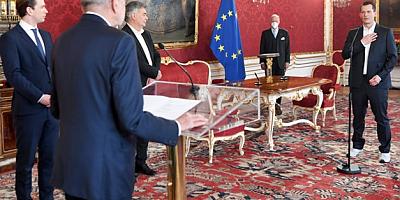 Avusturya'nın yeni Sağlık Bakanı Wolfgang Mückstein, yemin ederek göreve başladı