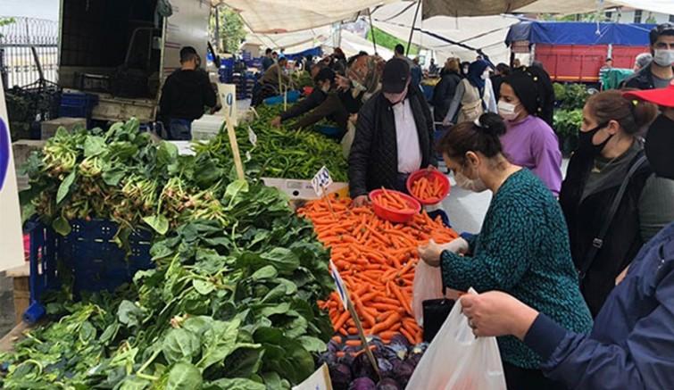 Türkiye'de gıda fiyatları yüzde 5'in üzerinde artış yaşandı