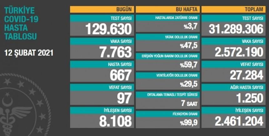 Türkiye'de koronavirüs vaka sayısında son durum