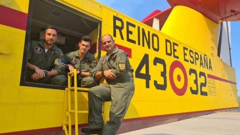 Türkiye'nin hurdaya çıkardığı '43 Grupo' uçakları ile İspanyollar Türkiye'ye yangın söndürmeye geldi