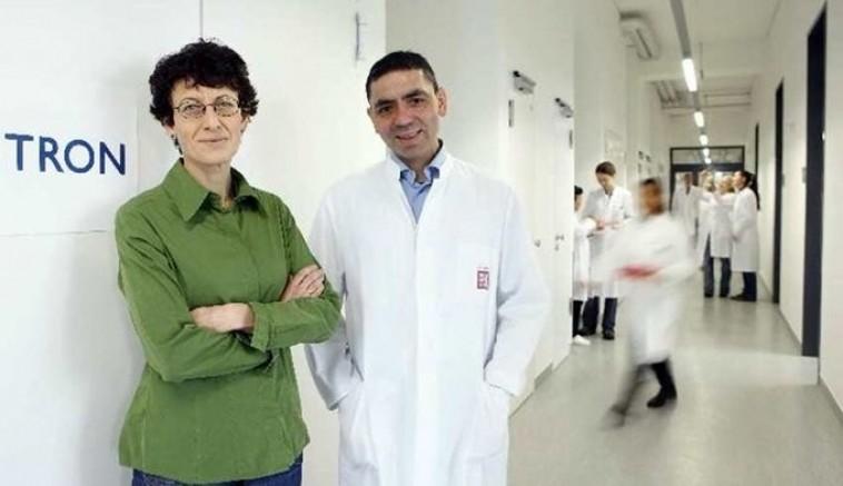 Uğur Şahin ile Özlem Türeci, ilk kez bir kanser hastasına aşı tedavisi uygulamaya başladı
