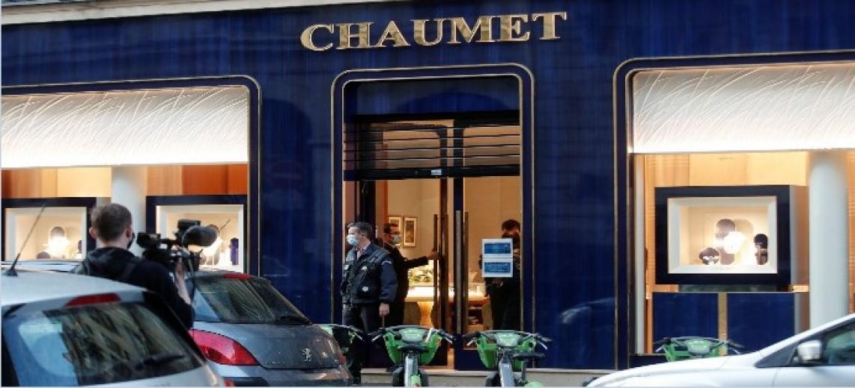 Ünlü Chaumet kuyumcusundan Yaklaşık 2 milyon euro değerindeki mücevher çalındılar