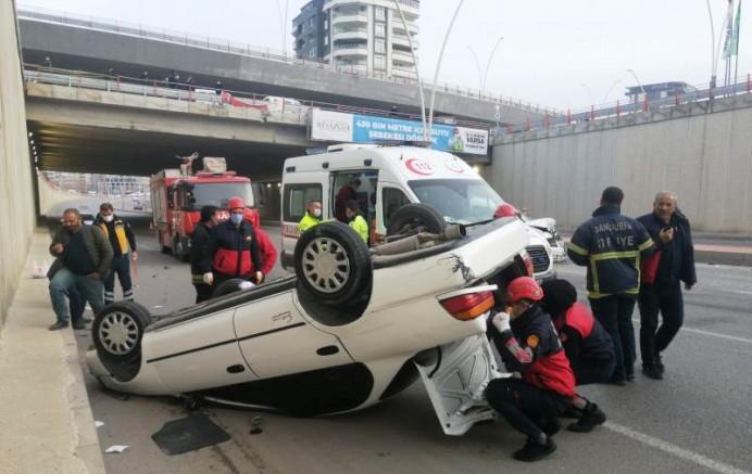 Urfa'da kaza: 2 yaralı