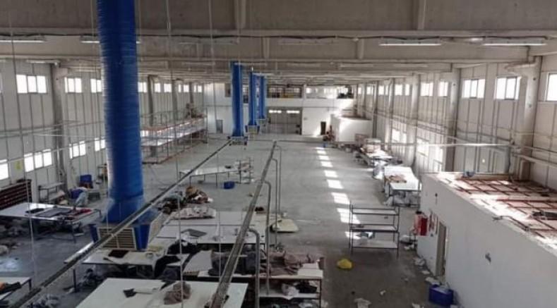 Urfa'da patron fabrikayı boşaltıp kaçtı: İşçiler eylem yaptı!