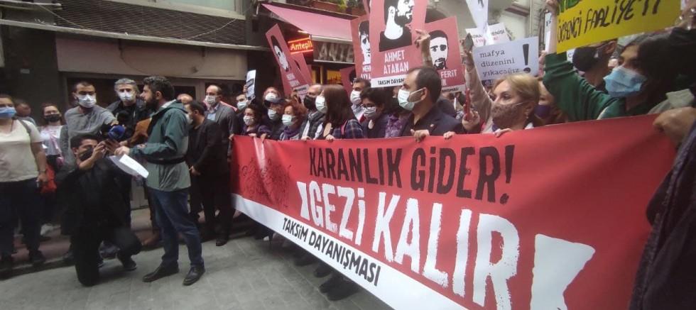 Valiliğin yasaklamasına rağmen Gezi  8. Yılında Beyoğlu'nda anıldı