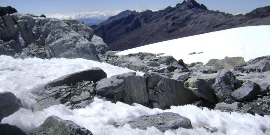 Venezüella'daki son buzul da artık eriyor