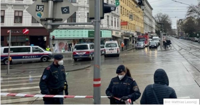 Viyana'da bir kişi bir kadının üzerine yakıcı madde dökerek ağır yaraladı
