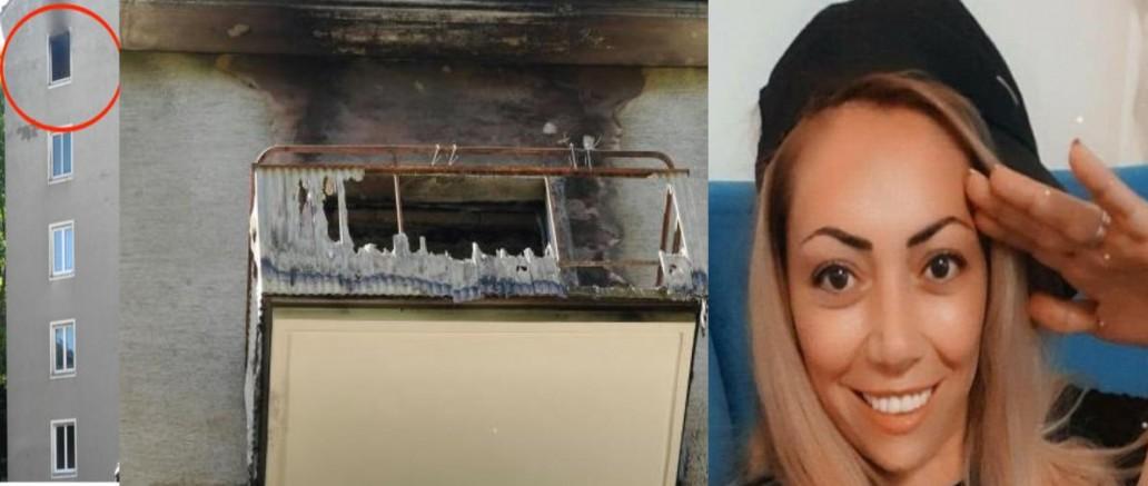 Viyana'da yangından kurtulmak için 5.kattan atlayan kadın yaşama tutunamadı