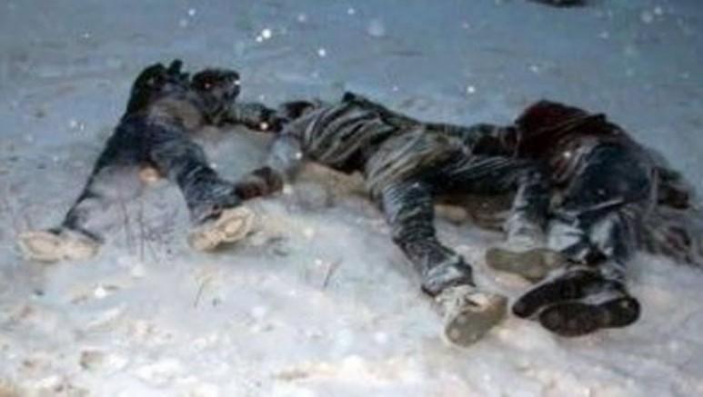 Yene bir dram, Van'da 13 mülteci donarak öldü